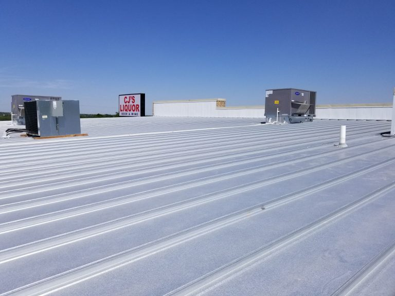 new commercial metal roof